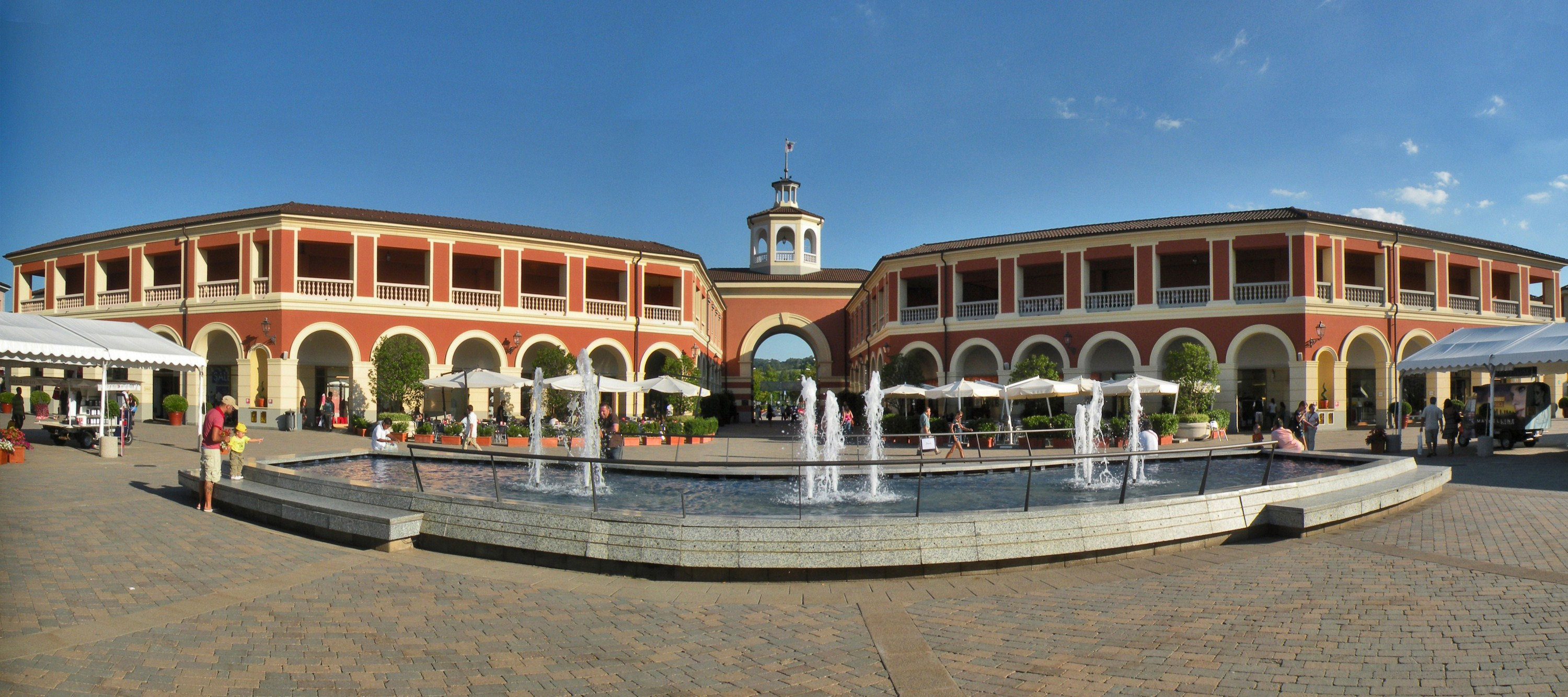 Outlet milan for Serravalle italy